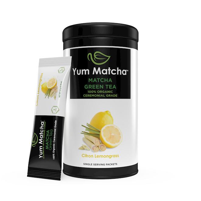 Citron Lemongrass Flavored Single Serving Packets