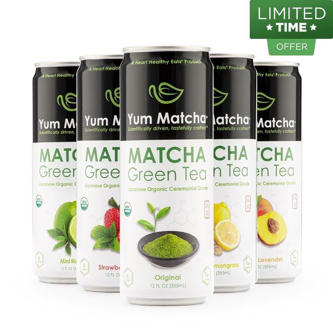 Variety Matcha Cans