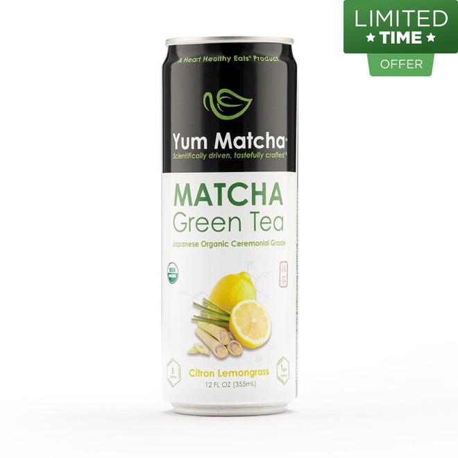 Citron Lemongrass Matcha Can