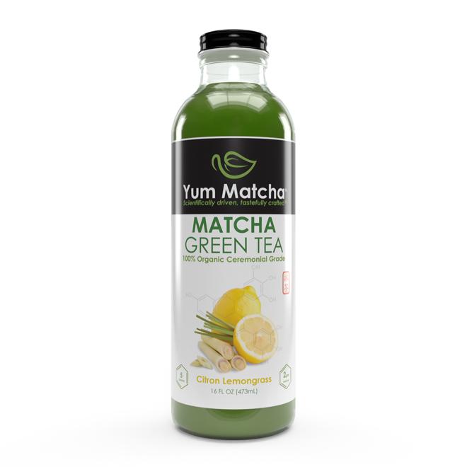 Citron Lemongrass Flavored Matcha Tea