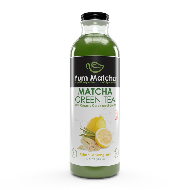 Citron Lemongrass Flavored Matcha Tea