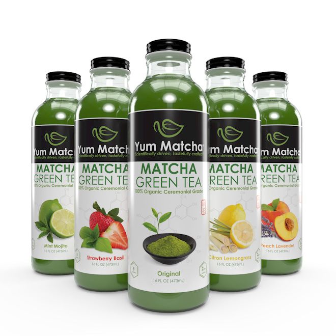 Variety Pack – Matcha Tea Bottles