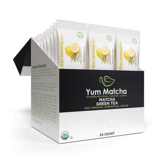 Citron Lemongrass Flavored Single Serving Packets (24-Pack)