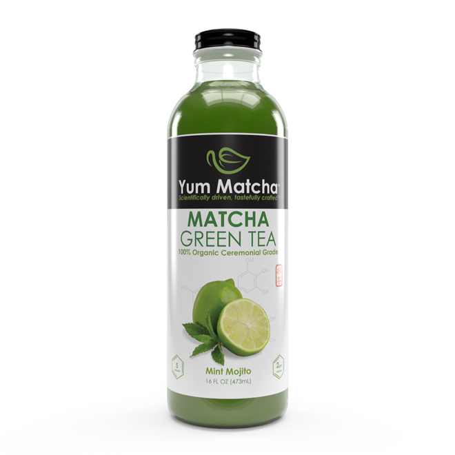 Mint Mojito Flavored Matcha Tea